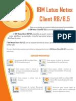 IBM Lotus Notes Client R8-8.5