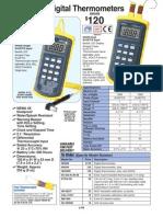 Handheld Digital Thermometers