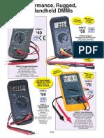 Handheld DMMs