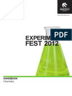 2012 Experifest_chemistry Booklet