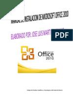 Manual de Instalacion de Office 2010