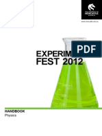 2012 Experifest_Physics Booklet