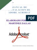 Manual de Instalacion de Adobe Acrobat