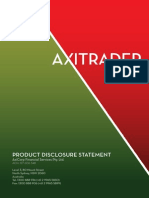 P Operations Client Info PDS FSG CA AxiTrader-Product Disclosure Statement