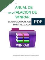 Manual de Instalacion de Winrar
