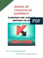 Manual de Instalacion de Kasperksy