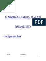 2010 La Legislazione Turistica Sicilia 2010