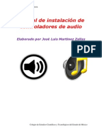 Manual de Instalacion de Audio