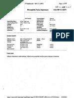 Police Report Terrance Franklin 2717 Bryant MPD CAPRS 13-134872