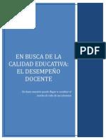 MONOGRAFIA - DESEMPEÑO DOCENTE
