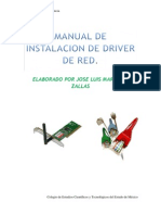 Manual de Instalacion de Driver de Red