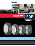 Bridge Stone Base Price List 2009