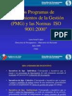 PMG Base de Iso 9001-2000