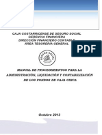 Manual de Caja Chica