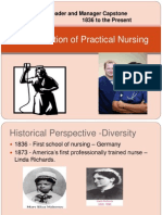 the evolution of practical nursing week 3