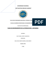 Plan de Mejoramiento de La Produccion Antamina