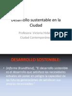 Desarrollo Sustentable en La Ciudad