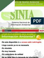 Presentación- SINIA