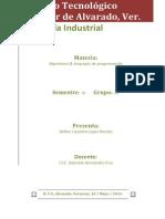 Wilber Lizandro Lopez Ramon_Portafolio_ Algoritmos y Lenguajes de Programacion.