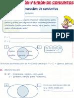 CAP 3 Intersección y Unión de Conjuntos (1)