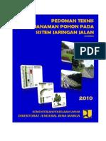 Pedoman Teknis Penanaman Pohon Pada Sistem Jaringan Jalan Interim
