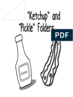 Ketchup & Pickle Folders