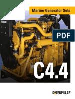 Brochure - Cat C4-4 Marine Gensets