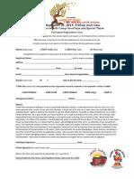 Participant Registration Form 2014