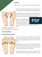 Reflexology - 5 Power Points