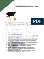 Daftar Perguruan Tinggi Ikatan Dinas Dan Beasiswa Penuh