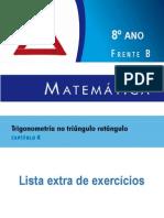 Complemento - Lista Extra Matemática - 8 Ano - Livro 2 - Capítulo 04 FB