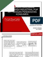 Desain Interior Butik Hardware Bernuansa Industrial Dengan Pendekatan