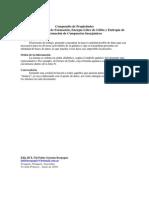Tabla de Entalpia de Formacion, Energia Libre de Gibbs y Entropia de Formacion de Compuestos Inorganicos