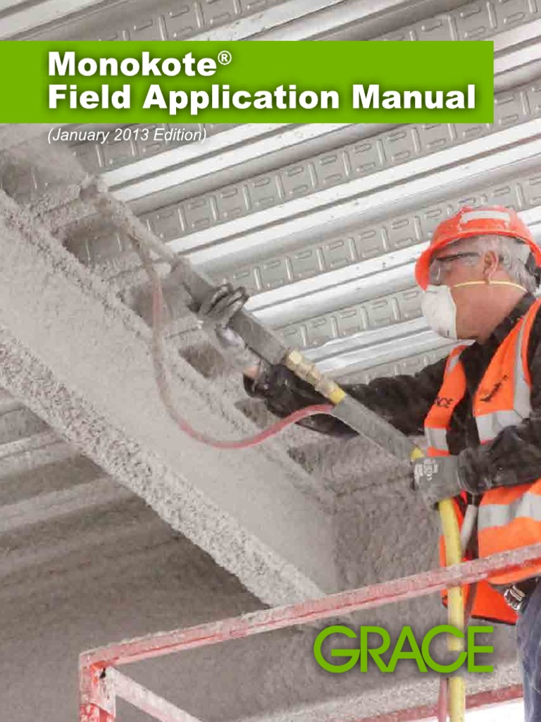 Monokote Field App Manual_LR | Structural Steel | Ventilation