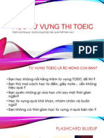 Học Từ Vựng Thi TOEIC Với Flashcard