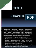Teori Behavioris