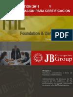 SILABUS CURSO TALLER ITIL + Prep. Certificacion_2011.