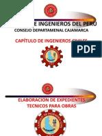 Elaboracion de Expedientes Tecnicos Para Obras