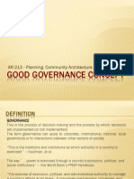 Good Governance Concept-report