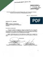 Proyecto de nueva Ley de Contrataciones del Estado (Perú) y su Exposición de Motivos