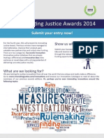 Leaflet HiiL IJ Awards 2014