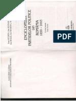 EEnciclopedia Partidelor Politice Din Romania Intre 1859-2003