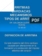 ARRITMIAS CARDIACAS USMP