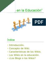 wikis en la educación