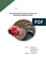 Programa de Detección Temprana de La Hipoacusia