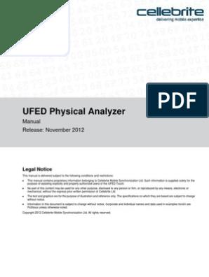 UFED Physical Analyzer   Installation (Computer Programs