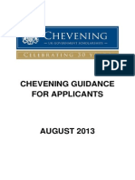 Guidance for Applicants
