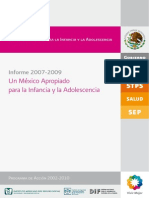 Informe_Un México Apropiado Infancia y Adolescencia