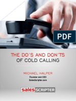 Dos and Donts of Cold Calling