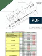SUBMERSA - Relação de Peças Motor (0,5 a 2,0)Cv1